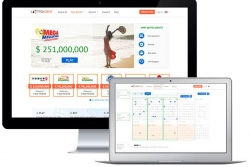 Lotto Agent site for desktop computers and laptops