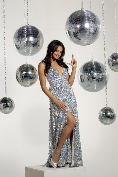 Alesha Dixon in the EuroMillions ads