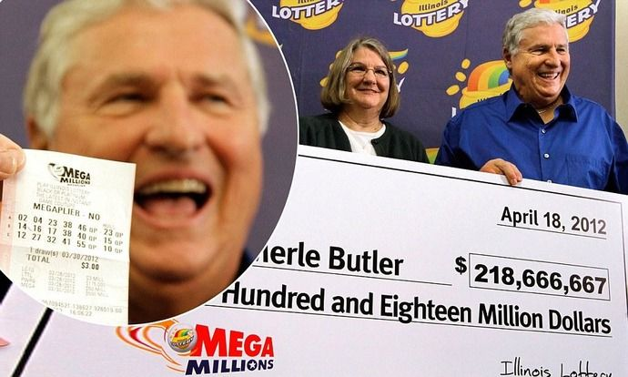Merle and Patricia Butler won 218.6 million dollars