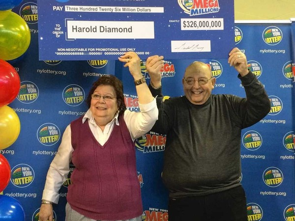 Harold Diamond is the biggest lottery winner in New York