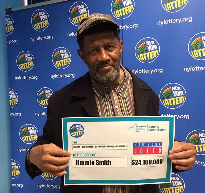 Jimmie Smith lost his lottery ticket in the pocket