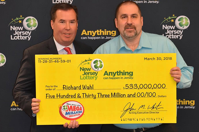 Lottery winner Richard Wahl