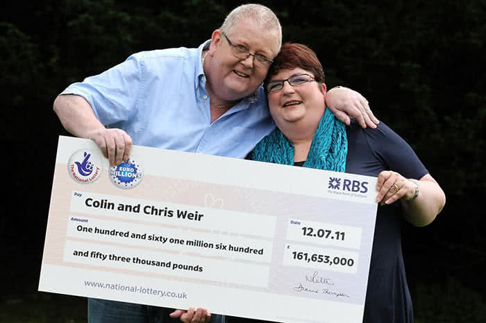 Colin and Chris Weir typical lottery winners