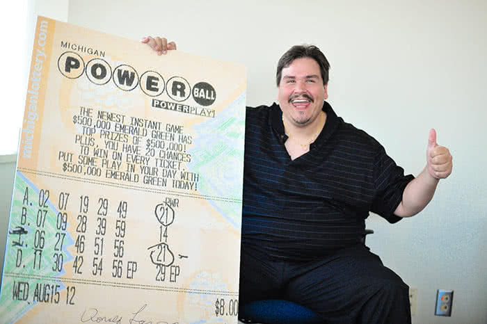 Donald Lawson Powerball lottery winner