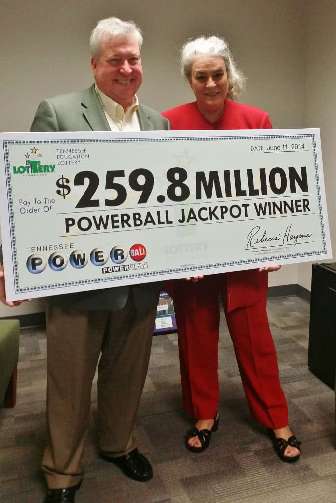 Roy Cockrum Powerball lottery winner