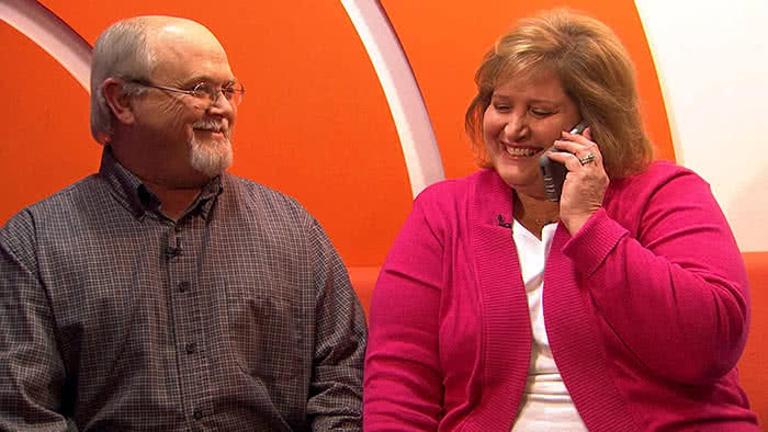 Lisa and John Robinson Powerball lottery winners